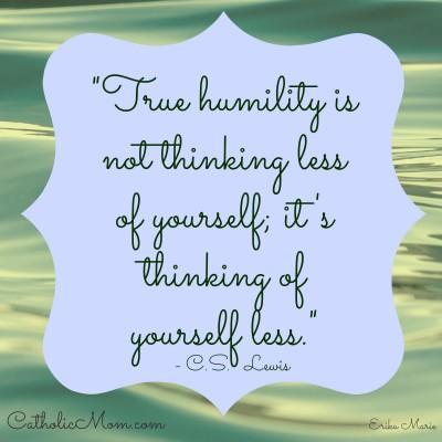 C.S Lewis Humility