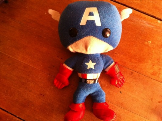 Captain America and God of All The Things
