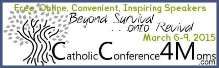 Catholic Conference 4 Moms Banner