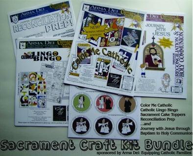 Catholic Mom Sacrament Craft Kit Bundle