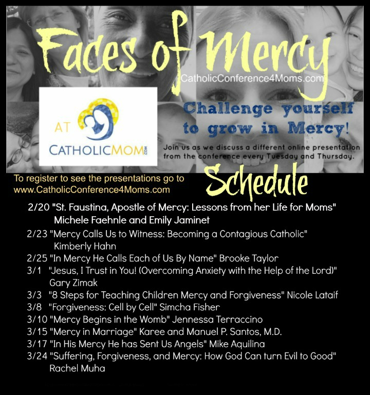 CatholicMom Schedule for Conference