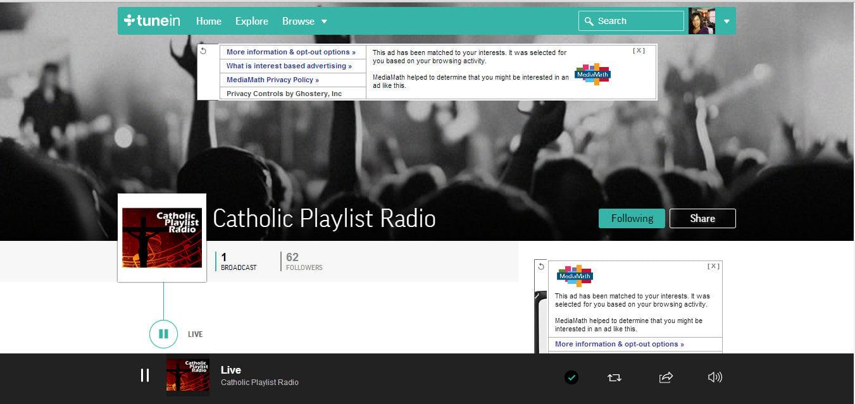 CatholicPlaylistRadio