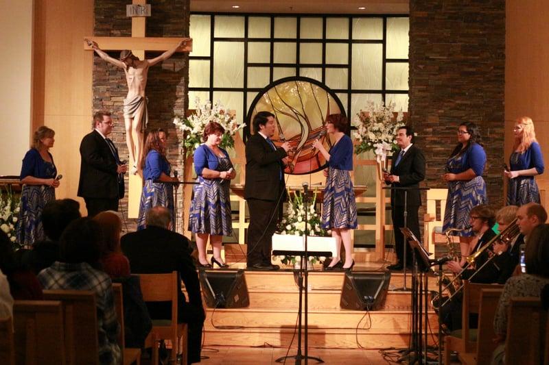 """Jon Stemkoski's Celebrant Singers begin their 40th consecutive year of ministry!"" (CatholicMom.com)"