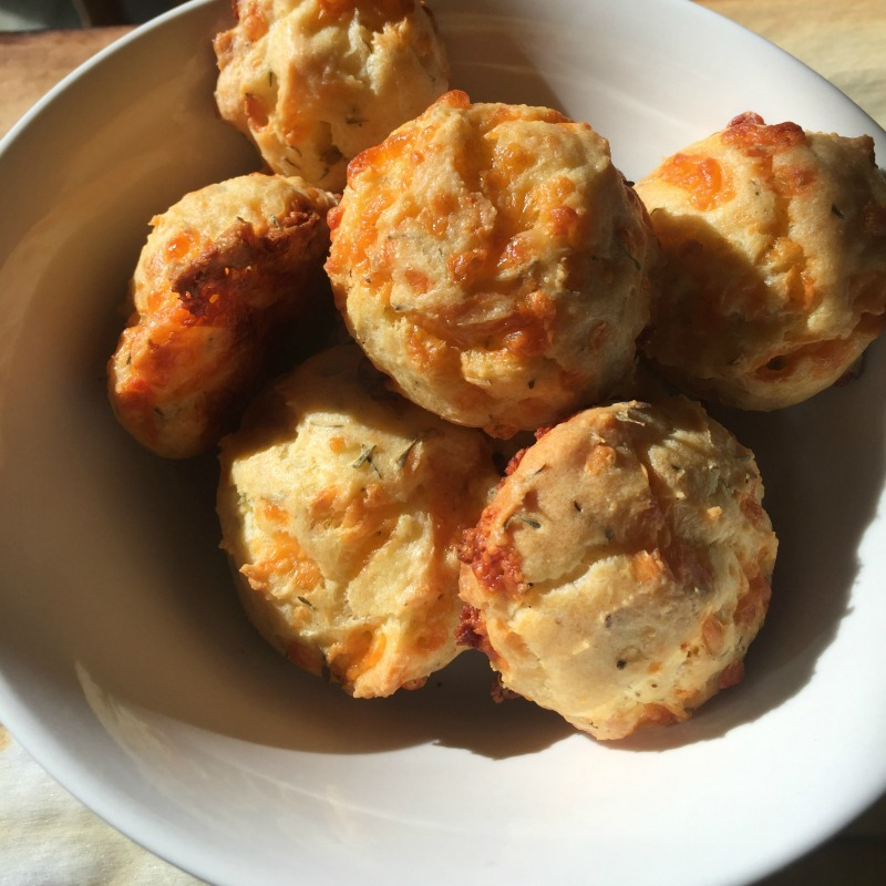 """Meatless Friday: Cheddar Herb Gougeres"" by Erin McCole Cupp (CatholicMom.com)"