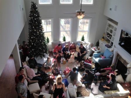 Christmas from balcony 2014-3
