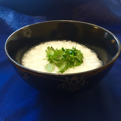 Congee, or Chinese Rice Porridge: A Meatless Friday Recipe from CatholicMom.com