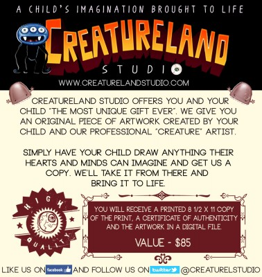 Creatureland description