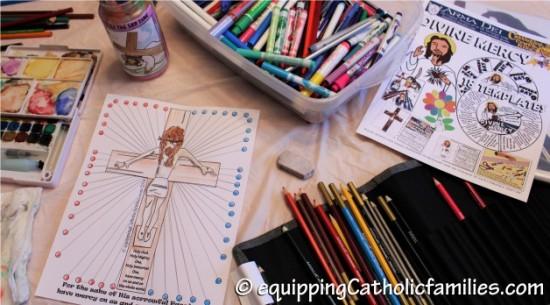 Divine Mercy Craft