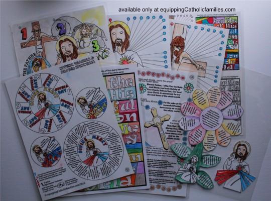 Divine Mercy Crafts 2