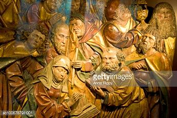 The Dormition of Mary with the Apostles and Disciples