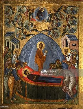 Icon of the Dormition of the Virgin Mary