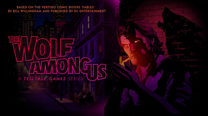 """""""Fables Telltale Logo"""" by Source. Licensed under Fair use of copyrighted material in the context of The Wolf Among Us"""">Fair use via Wikipedia."""