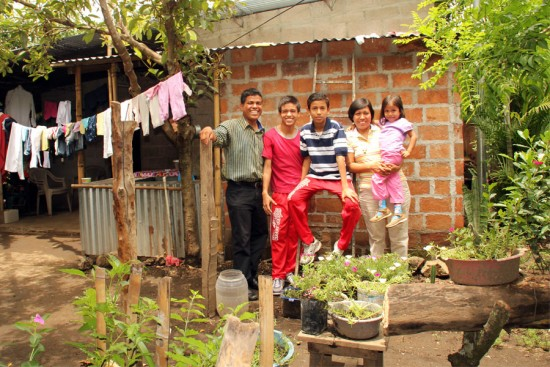 After losing their home in a storm, the family was able to build a sturdier, safer, more comfortable house with help from Unbound.
