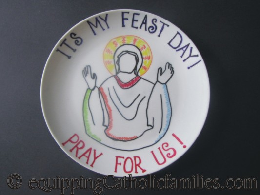 Feast Day Plate