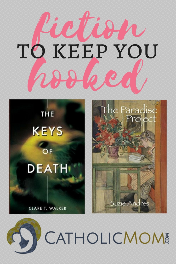 Looking for fiction to keep you hooked? Sarah Reinhard has two books that might interest you: a thriller and a romance. See what you think!