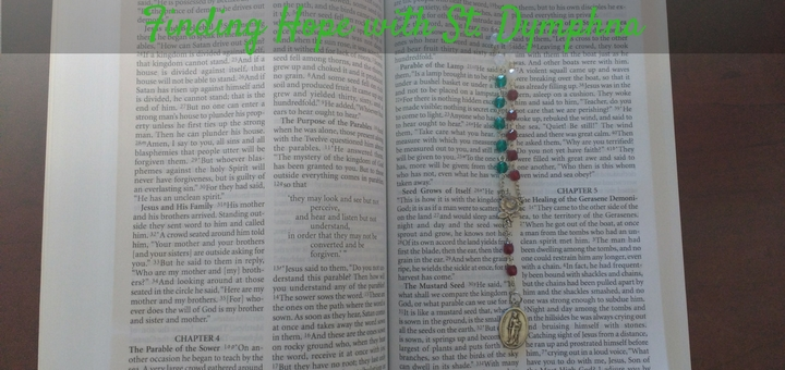 """""""Finding Hope amidst Anxiety with St. Dymphna"""" by Tiffany Walsh (CatholicMom.com)"""