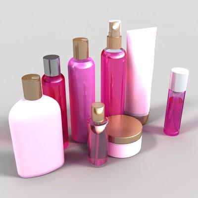 Generic Cosmetics Bottles