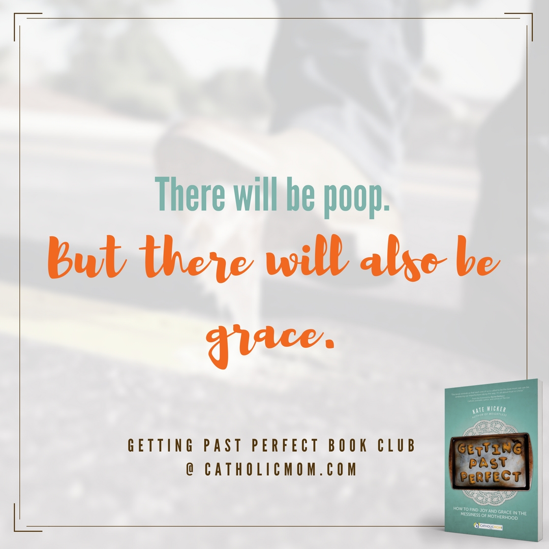 There will be poop. But there will also be grace. #GettingPastPerfect #bookclub