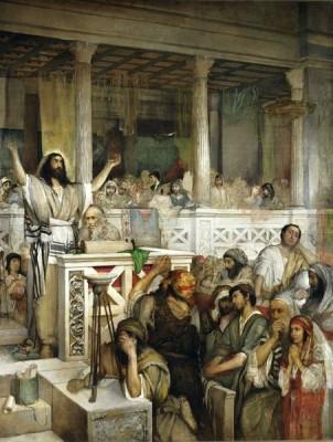 Gottlieb_Christ_preaching_at_Capernaum