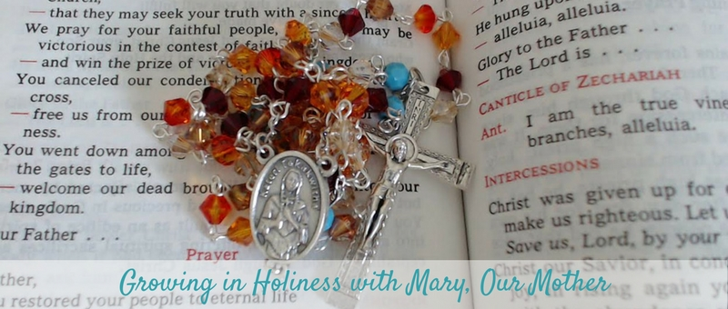 """""""Praying the Rosary on the Road"""" by Tiffany Walsh (CatholicMom.com)"""