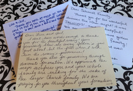 The Lost Art of the Handwritten Thank You Note