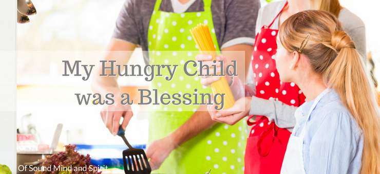 """My hungry child was a blessing"" by Lisa Henley Jones (CatholicMom.com)"