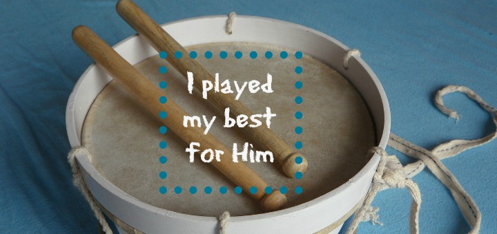 """I played my best for Him"" by Barb Szyszkiewicz (CatholicMom.com)"
