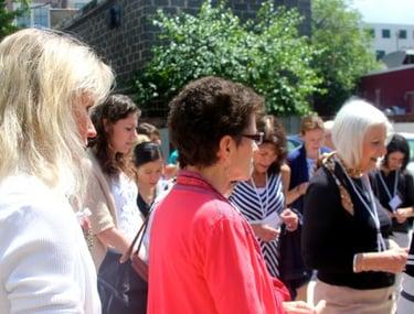 A walking rosary: Praying the rosary through downtown Charleston, S.C.