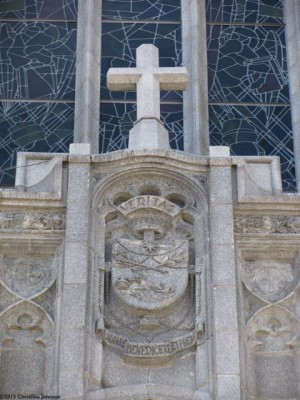 The motto of the Order of Preachers: Veritas (Truth)