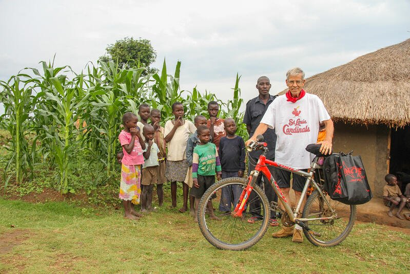 """Biking for Jesus: 50,000 Miles and Still Going"" for CatholicMom.com"