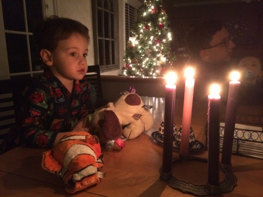 Mesmerized by the candlelight.  By Catherine Boucher.  All Rights Reserved.
