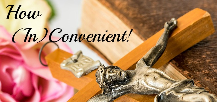 """How (in)convenient"" by Laura Nelson (CatholicMom.com)"