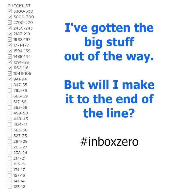 Is Inbox Zero a pipe dream? #techtalk