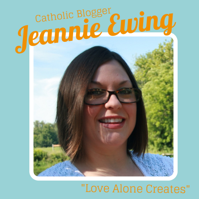 Jeannie Ewing Catholic Blogger