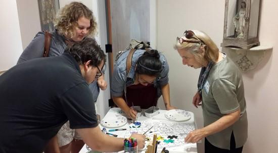 Judith Costello Montessori work begins