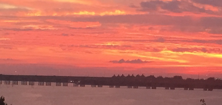 Sunrise on Lake Ray Hubbard (Photo by Nancy Ward)
