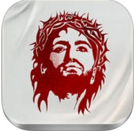 Lent meditation app logo