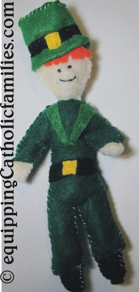 Leprechaun Felt Friend