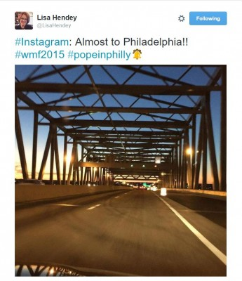 Screen capture of tweet by Lisa Hendey.