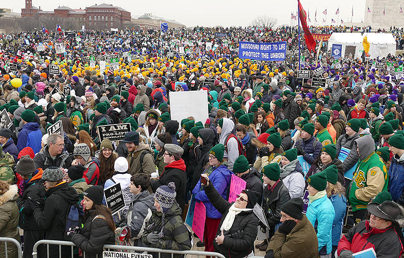"""""""#whywemarch #marchforlife: Social Media Spreads the Message"""" by Lisa M. Hendey (CatholicMom.com)"""