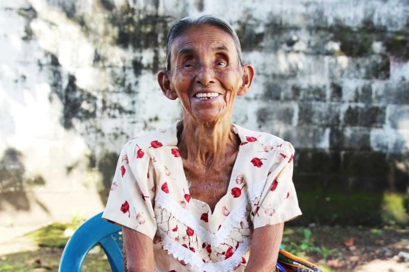 """""""A heart of gratitude after a life of struggle"""" (CatholicMom.com)"""