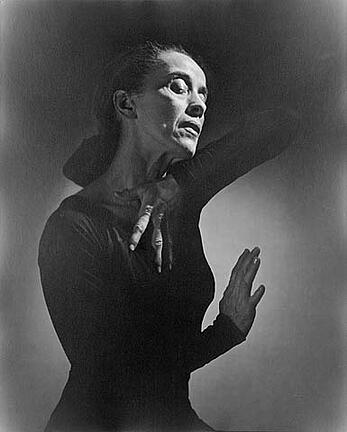 Martha Graham at age 54 and who danced well into her 90's.