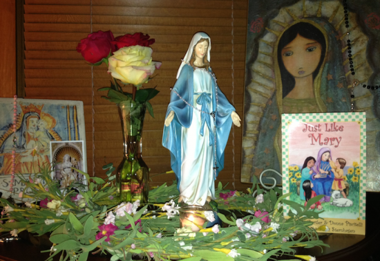 Creating a May Altar to Honor Mary
