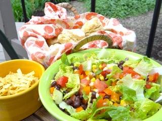 Mex chopped salad Barbara Stein