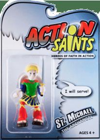 St. Michael the Archangel Action Figure