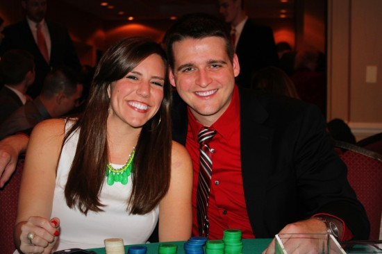 Son #3 Mike and his fiancée Katie, getting married December 2013.