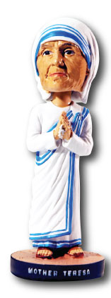 Mother Teresa of Calcutta Bobblehead Figure
