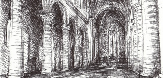 """Orvieto Duomo"" by Michelle Arnold Paine. All rights reserved."
