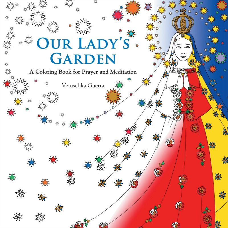 """""""Our Lady's Garden"""" coloring book from Pauline Books & Media"""