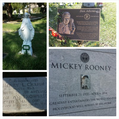 From my recent visit to Hollywood Forever Cemetery, LA